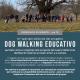 Locandina dog walking alla scoperta dei sapori del Barolo